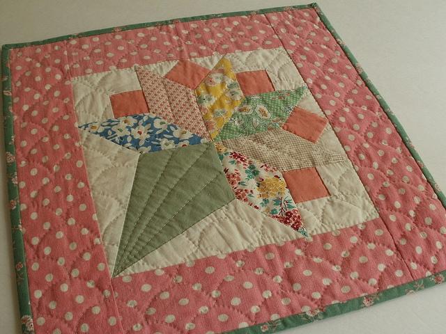 Modern Uses for Vintage Feedsack Fabric
