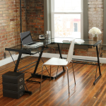 Efficient Office Furniture: Top Reasons to Buy Walker Edison's L-Shaped Corner Desk